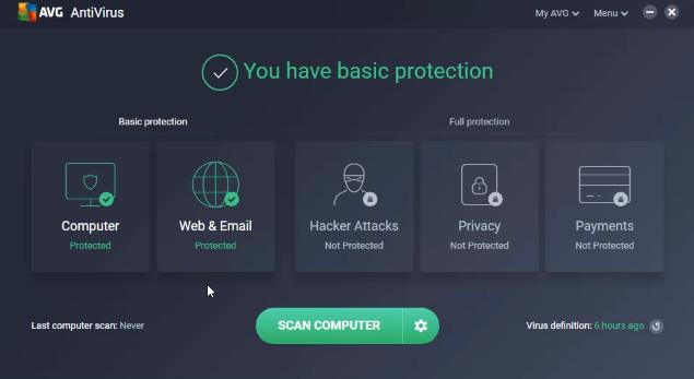 Revisión del antivirus de AVG - versiones gratuitas y pro