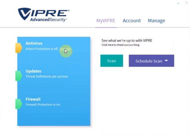 Reseñas de Vipre Internet Security