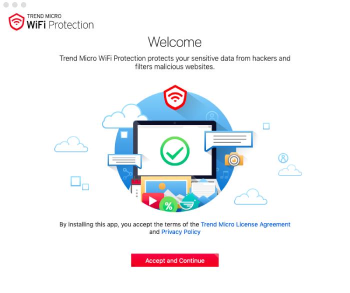 Protección WiFi de Trend Micro.