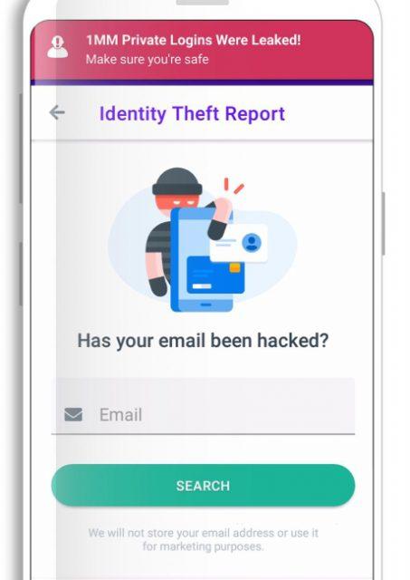 protección de correo electrónico de seguridad del dfndr