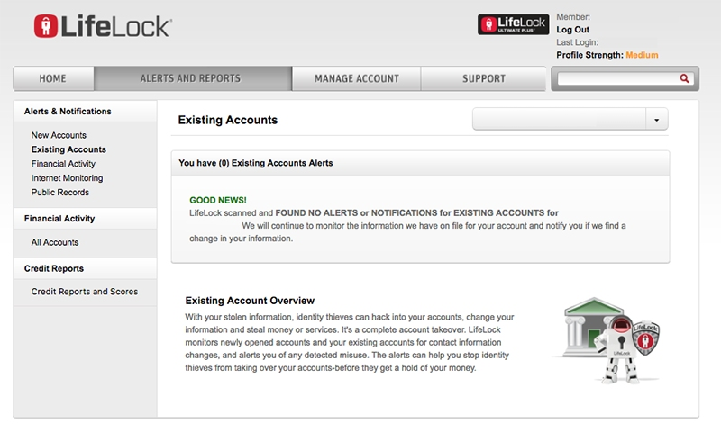 Reseña de LifeLock: Hechos, Pros y contras, alertas e informes de LifeLock