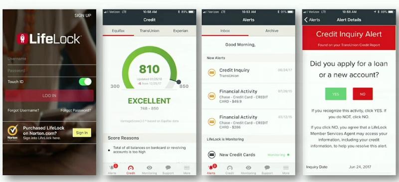 Reseña de LifeLock: Hechos, Pros y contras, lifelock para androide e iphone