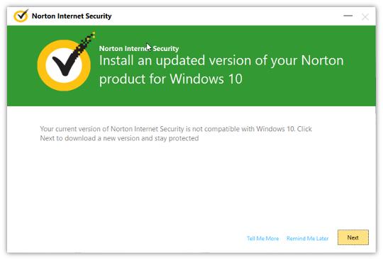 Instalación del Antivirus Norton.